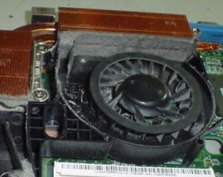 hersteldienst koeling rooster laptop