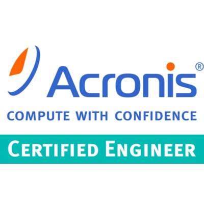 Acronis Certified Engineer