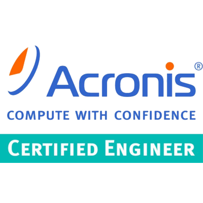 Acronis Certified Engineer